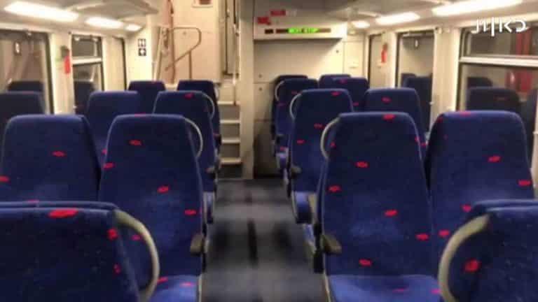 רכבת ריקה במשבר הקורונה