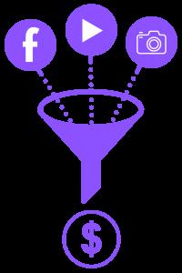 משפך ניהול רשתות חברתיות